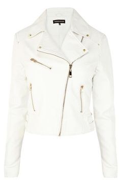 Warehouse Double Buckle Faux Leather Biker Blazer. I actually got it from another store