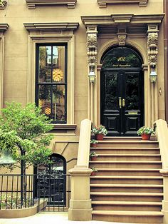 BROOKLYN BROWNSTONES SO BEAUTIFUL