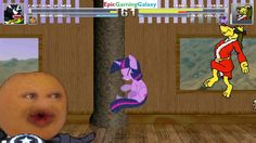 Annoying Orange & Captain Venom VS Hong Kong Phooey & Twilight Sparkle In A MUGEN Match / Battle This video showcases Gameplay of Twilight Sparkle From The My Little Pony Friendship Is Magic Series And Hong Kong Phooey The Superhero VS Captain Venom And The Annoying Orange In A MUGEN Match / Battle / Fight