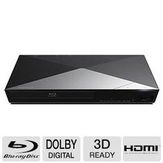 BUY NOW Sony 3D Blu-ray Disc Player With Full HD 1080p Resolution, Built-in 2.4 GHz Sony Super Wi-Fi, 2D/3D Full HD 1080p