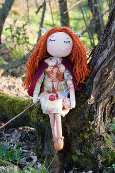 new doll. deer - girl.