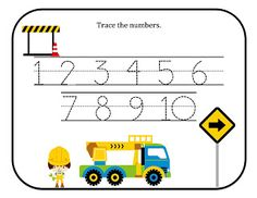 Preschool Printables: Construction