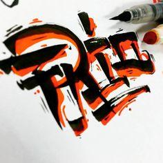 #love #3D #goodtype #calligraphy #design #thedailytype #typographyinspired #typelove #typedaily #type #letras #pentelbrushpen #pro #ink #letter #marker #crayola #pentel
