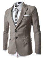 TheLees Mens casual peak lapels 2 button jacket blazer Gray XX-Large(US X-Large) Mens Fashion Suits, Mens Suits, Men's Fashion, Fashion Brands, Fashion Ideas, Casual Blazer, Men Casual, Style Costume Homme, Designer Jackets For Men