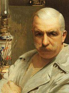 Vittorio Matteo Corcos - Autoritratto, 1913, Galleria degli Uffizi, Firenze