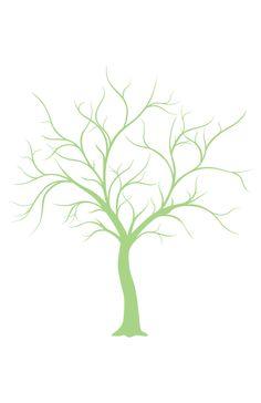 Thumb print tree - free to download
