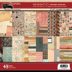 19573 8x8 2-Sided Papers ordre du jour - planner papers