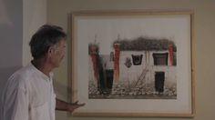 Houses in Lo Manthang, Mustang, Nepal - Robert Powell presenting his artwork - Mustang Nepal, Houses, Paintings, Artist, Artwork, Prints, Self, Homes, Work Of Art