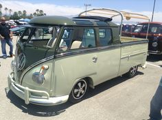 VW double cab bus type 2..Re-pin brought to you by agents of #Carinsurance at #HouseofInsurance in Eugene, Oregon