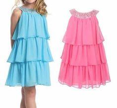 Galina_O - galkaorlo Baby Girl Dress Design, Baby Girl Dresses, Cute Dresses, Summer Dresses, Frocks For Babies, Kids Frocks, Frock Patterns, Vestido Casual, Maternity Fashion