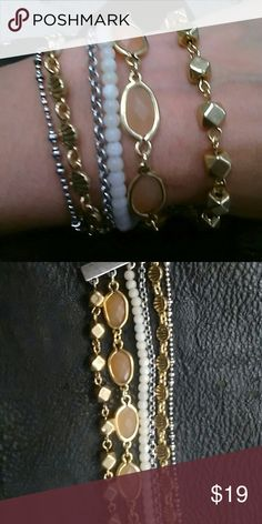 🆕🍀Lucky brand multi layer bracelet!! Nwt Lucky brand multi layer bracelet!! Dont wait negotiate!! Lucky Brand Jewelry Bracelets