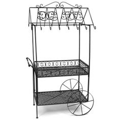 Roof idea for my grill flower cart.