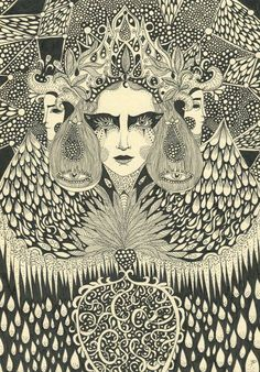 Petal to Petal: The Wonderful work of Daria Hlazatova Pop Art, Graffiti, Art Nouveau, Shadow Art, Psychedelic Art, Illustrations And Posters, Art Inspo, Renaissance, Art Projects