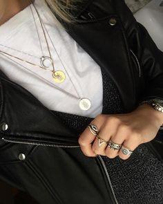 Styling by annekatrinenielsen showing Osiris Shiny Pendant Gold #jewellery #Jewelry #bangles #amulet #dogtag #medallion #choker #charms #Pendant #Earring #EarringBackPeace #EarJacket #EarSticks #Necklace #Earcuff #Bracelet #Minimal #minimalistic #ContemporaryJewellery #zirkonia #Gemstone #JewelleryStone #JewelleryDesign #CreativeJewellery #OxidizedJewellery #gold #silver #rosegold #hoops #armcuff #jewls #jewelleryInspiration #JewelleryInspo #accesories #DanishDesign #JewelryStyling #Diamonds…