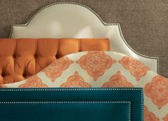 Upholstered headboards in every color. HomeDecorators.com