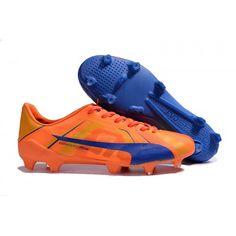 more photos 4409a 701c8 Puma evoSPEED SL Tricks H2H FG Orange Blue Football Boots