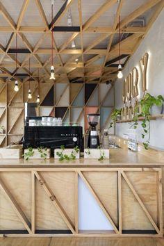 Le studio australien Biasol Design Studio, est spécialisé dans la création et l'aménagement de restaurants, bars, hôtels… Ils sont intervenus pour l'aménag