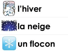 Madame Belle Feuille: c'est l'hiver french unit of work French Teaching Resources, Teaching Activities, Language Activities, Teaching Tools, Teaching Materials, Teaching French Immersion, Winter Words, Core French, French Class