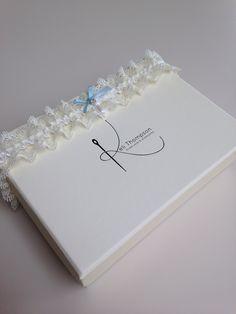 Ivory lace & something blue garter. #kelithompson #garter #wedding #handmade