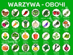 овочі Poland Language, Polish Words, Gernal Knowledge, Polish Recipes, Education, Chili, Student, Guys, Fashion