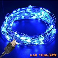 String lights oak leaf 2 set of micro 30 leds super bright warm led string lights tasodin 2 set of 15 leds battery operated on long bright blue color micro string copper wire ultra thin rope light mozeypictures Gallery