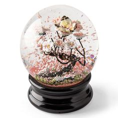 Cherry Blossom Waterglobe