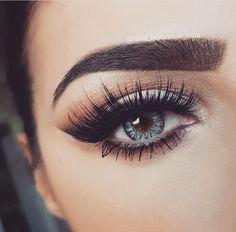 Beautiful long lashes.
