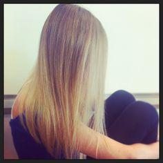 #blondehair #silky #hair #longhair #shatush Daniela Leardini