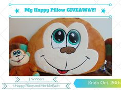 Help your child express their emotions with My Happy Pillow! You can easily flip the pillow to express whether you are happy, sad, angry, shy, bored, etc.