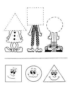 Pracovný list údajov okulöncesit je-škôlka Body Parts Preschool Activities, Preschool Body Theme, Shape Worksheets For Preschool, Preschool Writing, Preschool Learning Activities, Preschool Curriculum, Preschool Printables, Geometry Worksheets, Geometry Tattoo