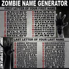 Zombie name