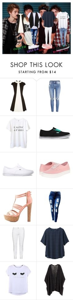 """""""5sos Outfit's for Girls"""" by revyamyneva17 on Polyvore featuring H&M, Vans, Charlotte Russe, Steilmann, Uniqlo, Chicnova Fashion, 5sos, polyvoreeditorial and 5secondsofsummer"""