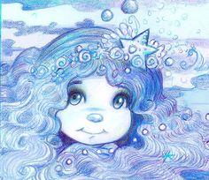 Mermaid ,little sweet girl… by Gothic Sweet