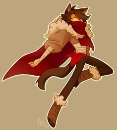 life-writer: ive been drawing this guy like all day he's an assassin catboy