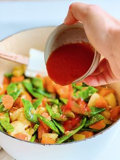 Krepka gosta zelenjavna juha za hladne dni - Yaska