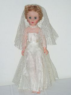 I still have my bride doll, but she has auburn hair and her dress and clothes are getting a little tattered.