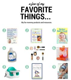 A Few of my Favorite Things… | twintough.com #baby #parenting