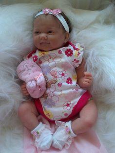 Life-Size Newborn Baby Dolls | ... has been reborned from an original La Newborn All Vinyl Sucky Lip Doll