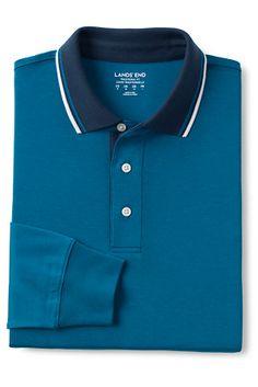 Men's Tipped Collar Supima Polo Shirt Men Shirts, Polo Shirts, Men Tips, Polo Ralph Lauren, Arm, Shirt Dress, Cotton, Tops, Fashion