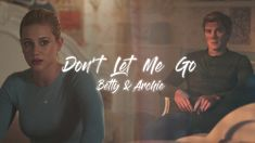 I know I already uploaded an edit this week but last weeks Riverdale had so much Barchie that I just couldn't resist making another. Let Me Go, Don't Let, Archie And Betty, Riverdale Aesthetic, Youtube, Fictional Characters, Fantasy Characters, Youtubers, Youtube Movies