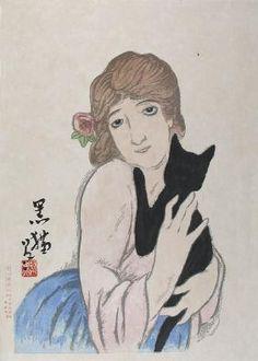 Takehisa Yumeiji: Black cat