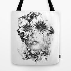 The End Of Cool Tote Bag by Mark Francis Williams