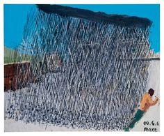Ma Ke (Chinese, b. 1970), Rain Shower, 2000. Oil on board, 58 x 70.8 cm.