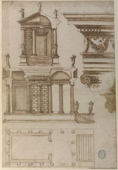 sp-arqtec:  Templo de la Fortuna VirilMontano, Giovanni Battista (1545-1621)