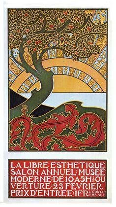 Art Nouveau Poster - Biscuits & Chocolate Delacre Art Nouveau Poster [] - $7.95 : Cerrious Design, Steampunk Jewelry & Works of Art, Art Nouveau Jewelry, Gustave Dore Prints, Original Screenprinted Art & Clothing, Custom USB Drives
