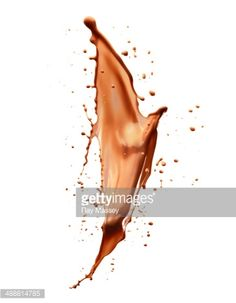 Liquid Chocolate Stock Photo | Getty Images