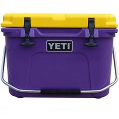 Yeti Cooler...keeps your food and drinks cold all weekend on even the hottest August gameday.