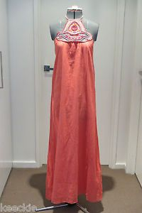 ONE Size Ishka Ladies Halter Maxi SUN Dress Boho Hippie Gypsy Casual Beach   eBay