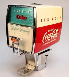 Vintage 1950's Coca Cola soda fountain