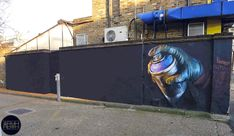 More Delightful Animated GIFs of Street Art by ABVH